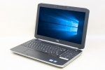 Latitude E5520(Windows10)(36338) 中古ノートパソコン、DELL(デル)、Intel Core i3