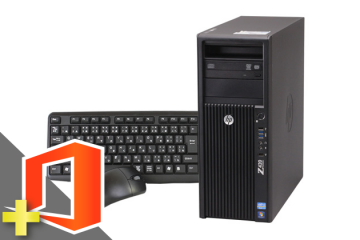 Z420 Workstation(Microsoft Office Home and Business 2019付属)(38762_m19hb) 中古ワークステーション